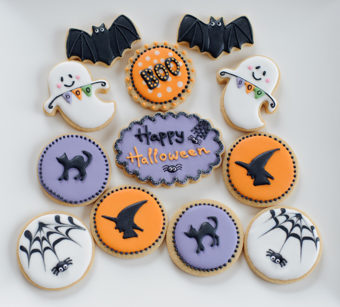 Halloween Cake Decorations Nz : Cookielicious NZ Natalia & Claudia s cookie decorating ...
